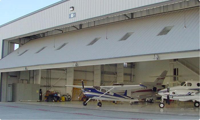 Tip-Up Canopy Door System by Door Engineering & Manufacturing, Inc.